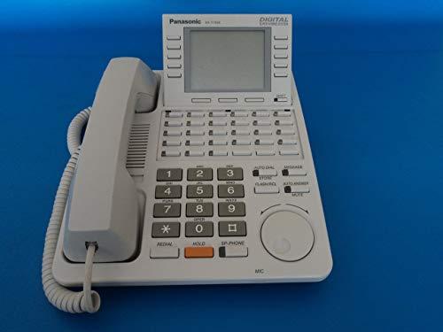 Panasonic KX-T7456 Digital 24 Button Speakerphone 6-Line Display KXT7456 White