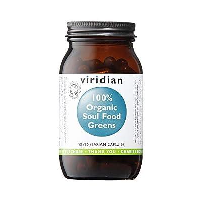 Viridian Organic Soul Food Greens, 90 VegCaps