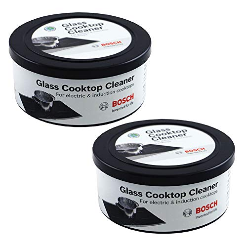 Our #6 Pick is the Bosch 12010030 Glass Cooktop Cleaner