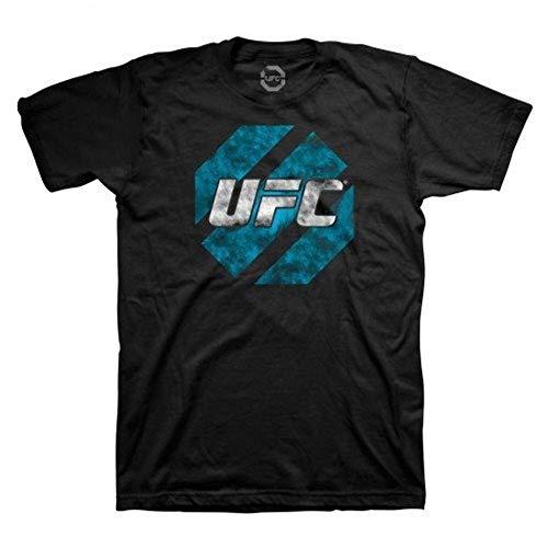 UFC Ultimate Fighting Championship Eroded Mens T-Shirt Black