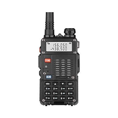 HDCDKKOU 8W Alta Potencia de walkie Talkie Profesional de silenciamiento Cifrar UV Doble frecuencia de 128 Canales de Walkie-Talkie, Soporte Auto Scan/LED