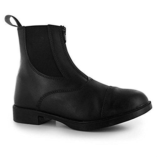 Requisite Westford Damen Reitstiefel Reiter Stiefeletten Reitsport Schuhe Schwarz 5 (38)