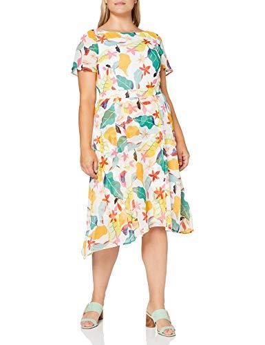 ESPRIT Collection Damen Esprit Kleid, Blau (403/NAVY 4), 42