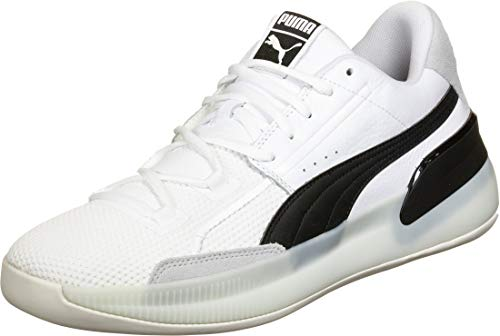 Puma Clyde Hardwood Schuhe white-black