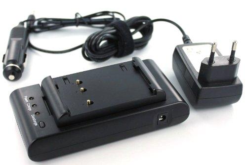 MobiloTec Ladegerät kompatibel mit Sharp VL-MX7U, Camcorder/Digitalkamera Netzteil/Ladegerät Stromversorgung