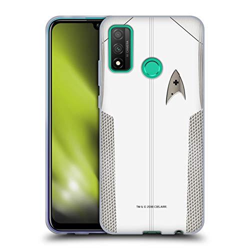 Head Case Designs Oficial Star Trek Discovery Oficial médico Uniformes Carcasa de Gel de Silicona Compatible con Huawei P Smart (2020)