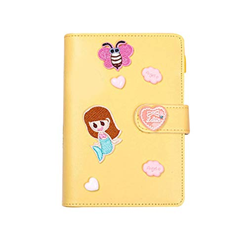 Notebook set A6 PU leather notepad with accessories for writing spiral coil diaries, notebook set A6 PU leather notepad binder with accessories for writing spiral coil diary travel.