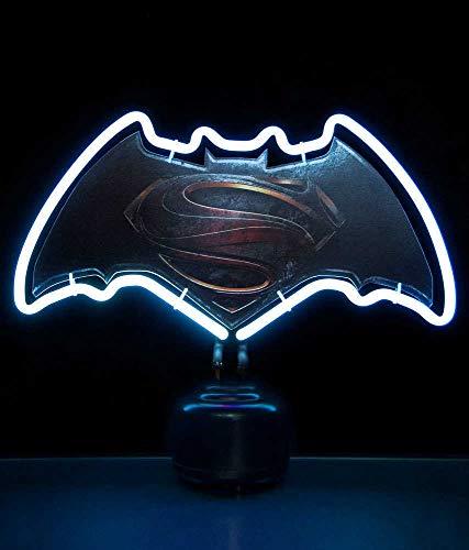Batman v Superman Neon Light Logo 24 x 30 cm Groovy Comics Decoration