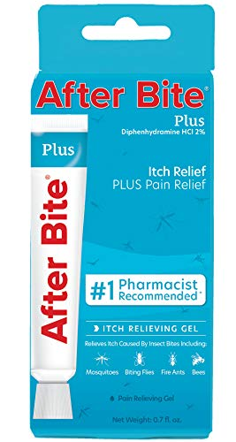 After Bite Plus Insect Bite Treatment with Antihistamine – Itch Relief + Pain Relief for Bug Bites and Minor Skin Irritations