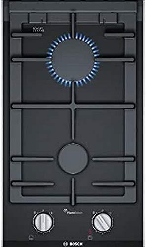 PRB3A6D70 Mesa Encimera de gas Negro hobs   Placa (Integrado, Encimera de gas, Vidrio, Negro, hierro fundido, 1900 W)