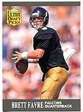 Brett Favre 1991 Fleer Ultra Draft Picks Rookie Card - Unsigned Football Cards