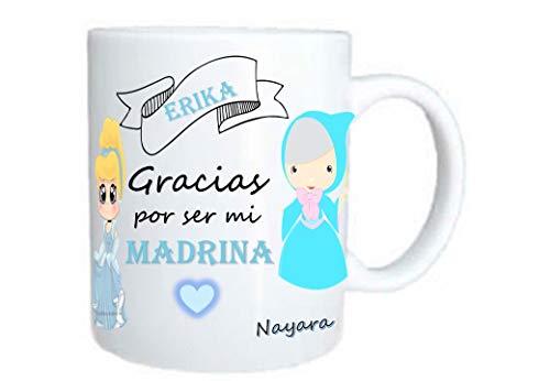 taza madrina personalizada regalo madrina