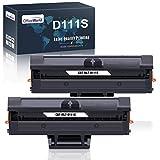 OFFICEWORLD D111S MLT-D111S Cartucce Toner Ricambio per Samsung MLT-D111 111S (2 Nero) per Samsung Xpress SL-M2070 SL-M2026 SL-M2020 SL-M2022 SL-M2070W SL-M2026W SL-M2020W SL-M2022W SL-2070FW