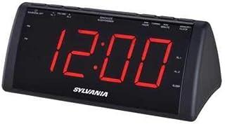 SYLVANIA SCR1808 1.8-Inch Screen USB Clock Radio