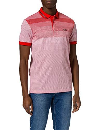 BOSS Paddy 4 10234067 01 Camisa de Polo, Talla Mediana Red618, L para Hombre