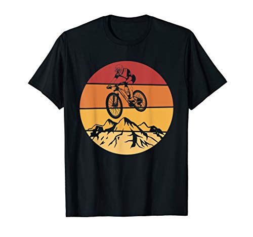 Mountainbike Vintage MTB Bike Downhill & Mountain Bike T-Shirt
