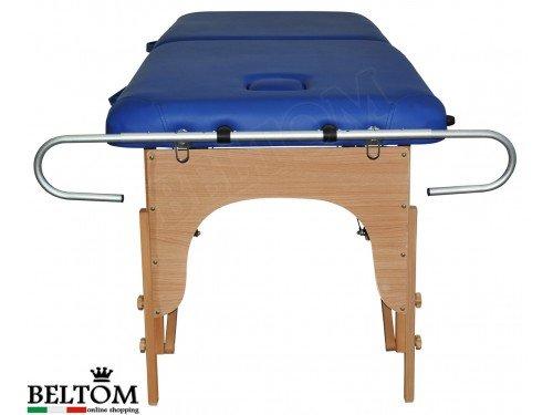 Beltom Papierrollenhalter Aluminium Für Massageliege Massagetisch Massagebank