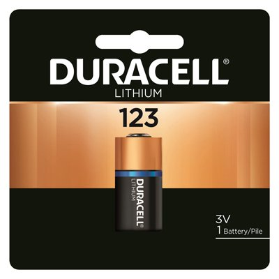 Duracell Distributing Nc 11210 Lithium Photo Battery, 123, 3-Volt - Quantity 6