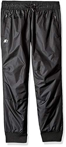 Starter Boys' Jogger Windpants, Amazon Exclusive, Black, M