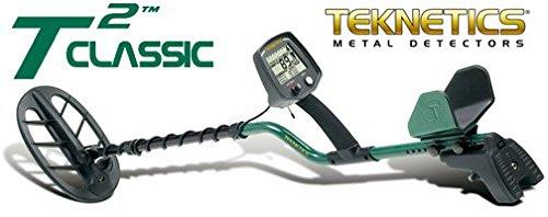 'Detector de metales Teknetics T2Classic placa 11DD metaldetector Oro Monedas