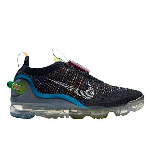 Nike Zapatos de Mujer Air Vapormax 2020 Flyknit CJ6741-400, (Azul real profundo, multicolor, blanco.), 36 EU