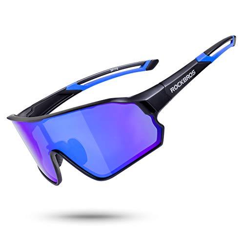 ROCKBROS(ロックブロス)偏光サングラス スポーツサングラス 自転車 超軽量 UV400 アイウェア 偏光レンズ 度付き ユニセックス 釣り/野球/ランニング/ゴルフ用