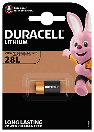 Duracell 2CR11108 2er Pack Lithium Batterie (V 28 PXL) 2 CR 1/3 N, PX 28, 6231