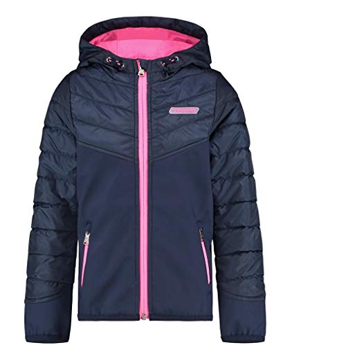 Vingino Girls Jacke Softshelljacke Teraise, Fb. d.Blue (Gr. 8/128)
