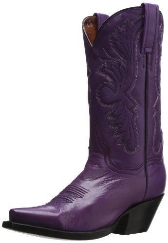 Dan Post Women's Wild Ride, Purple, 7.5 B (M) US