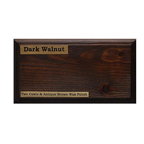 Tinte para madera a base de agua de Littlefair's, respetuoso con el medio ambiente, Nogal oscuro, 500 ml