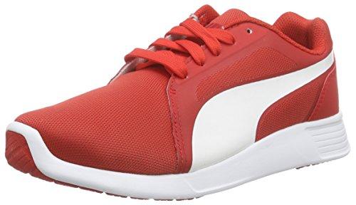 Puma Unisex-Erwachsene St Trainer Evo Low-Top, Rot (high risk red-white 04), 44.5 EU