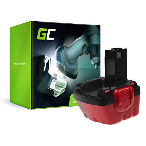 GC® (2Ah 12V Ni-MH Zellen) 2607335261 Akku für Bosch Werkzeug Ersatzakku