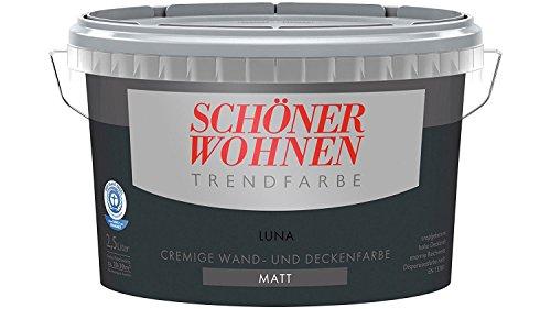 SCHÖNER WOHNEN FARBE Trendfarbe Luna, Matt 2,5 Liter