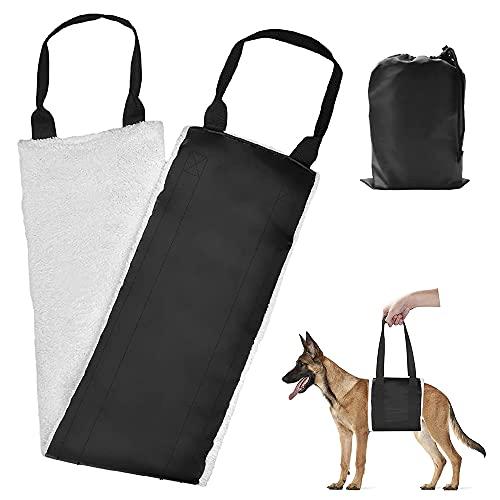 Furado Hundegeschirr Tragehilfe,Einstellbar Gehhilfe Hund Hinten Mittelgroße und Große Hund Rehabilitation Tragegurt mit Griffe Sicherheitshilfe für Behinderte, Verletzte, Ältere Hunde