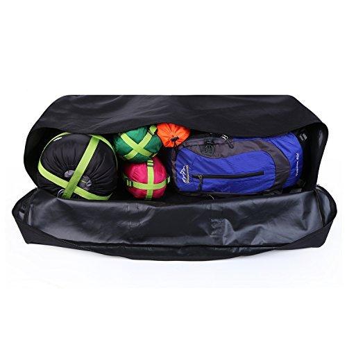 OUTAD Borsone da Viaggio in Oxford impermeabile Borse da Trekking Impermeabile, Bag uomo / donna da Escursione / Campeggio / Picnic (M (100L))