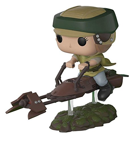 Figura de Vinilo Pop! Star Wars 228 - Princess Leia on Speeder Bike (0cm x 10cm)