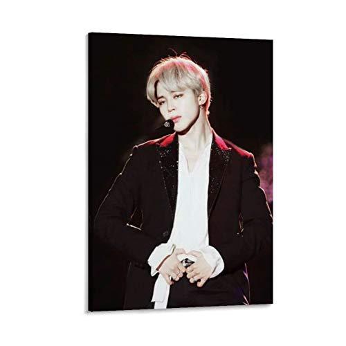 K-POP BTS JIMIN Nam-joon Kim Seok Jin Min Yoon Gi Jeon Jung Kook J-Hope Kim Tae Hyung 12 poster su tela e stampa artistica da parete, 50 x 75 cm