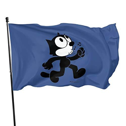 N+A Bandera silbando de Felix The Cat