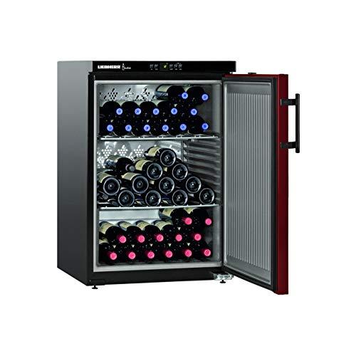 Liebherr WK 66 - enfriador de vino (Independiente, negro, SN-T, A+, marrón, acero inoxidable)