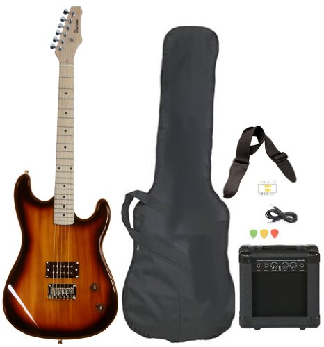 Jameson Guitars Full Size Electric Guitar with Amp