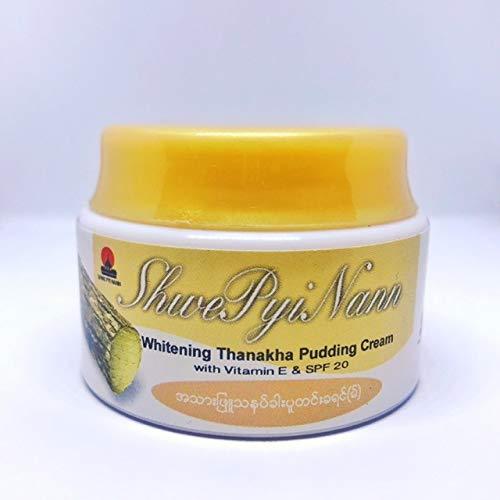 Whitening Thanakha Pudding Cream with vitamin E SPF 20