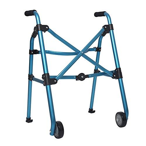 MKJYDM Ayuda For Caminar/Plegable Portátil De Peatones Caminar Muletas Rehabilitación/Función/Ancianos/Discapacitados Dispositivo De Ayuda For Caminar/Regulable En Altura Taburete de baño