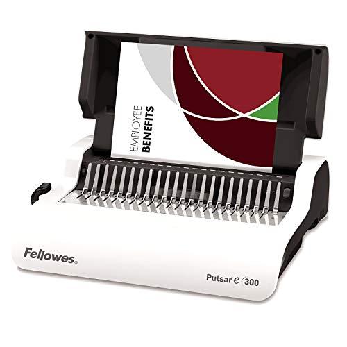 Fellowes Pulsar E 300 - Encuadernadora eléctrica de canutillo de plástico, uso frecuente