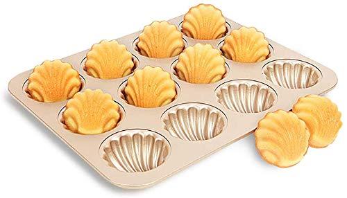 Mooie taartvorm kookvorm hulsvormige, non-stick, koken barbecue benodigdheden,Gold
