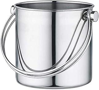 DWLXSH Cubo de Hielo for la Barra de Acero Inoxidable Cubo de Hielo, Enfriador de Bebidas del Metal Ideal Cubo de Hielo for el Vino, la Cerveza, el Vino espumoso o refrescos (Size : 3L)