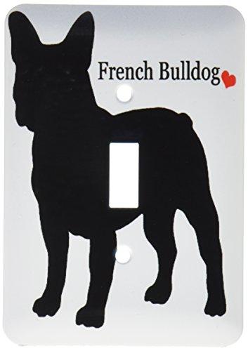 3dRose lsp_193334_1 French Bulldog Single Toggle Switch