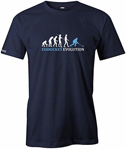Jayess Eishockey Evolution - Herren - T-Shirt in Navy by Gr. M
