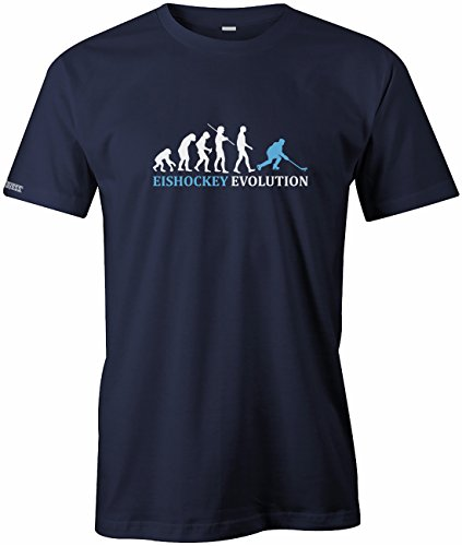 Jayess Eishockey Evolution - Herren - T-Shirt in Navy by Gr. XL