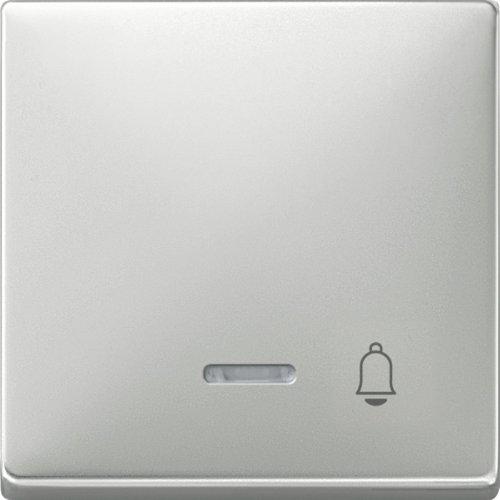 Merten, Interruttore a bilanciere con finestrella e disegno'Campanello' - 437846