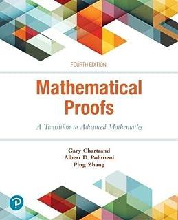 Mathematical Proofs: A Transition to Advanced Mathematics (0134746759) | Amazon price tracker / tracking, Amazon price history charts, Amazon price watches, Amazon price drop alerts